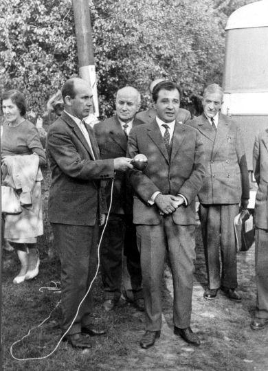 Kluki, otwarcie zagrody muzealnej 1963 r.