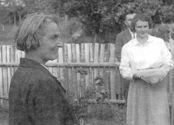 Kluki, otwarcie zagrody muzealnej 1963 r. fot. A. Ciechanowski